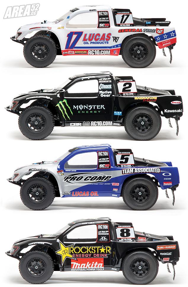 [NEWS] mise a jour du Team Associated SC10 RS SC10RS-Bodies