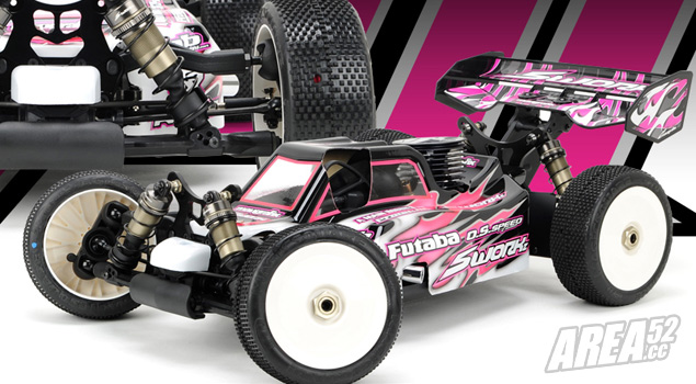 SWorkz S350 Evo II Pro 1/8th buggy kit